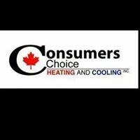 Consumers Choice Heating And Cooling Inc.
