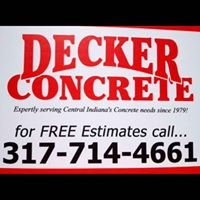 Decker Concrete Inc.