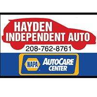 Hayden Independent Auto Service