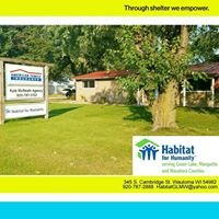 Habitat For Humanity Serving Green Lake, Marquette and Waushara Counties