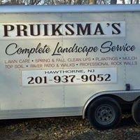 Pruiksma Landscaping Inc.