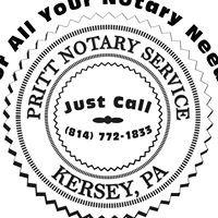 Jill L. Pritt Notary Public