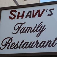 Shaw's Family Restaurant, Dixon California