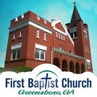First Baptist Church, Greensboro, Ga