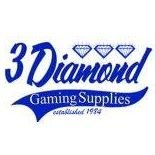 3 Diamond - Pull Tabs , Bingo and gambling supplies