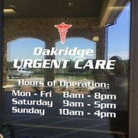 Oakridge Urgent Care