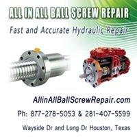 All in All Ball Screw Repair