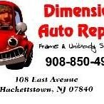 Dimension Auto Repair, Frame & Unibody
