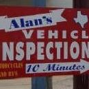 Alan's Vehicle Inspections