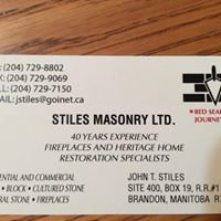 Stiles Masonry Ltd.