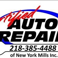 Certified Auto Repair of New York Mills, Inc.