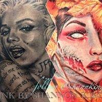 Foxfire - Tattoos by Shannon King