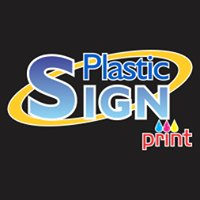 Plastic Sign Print