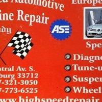 High Speed Automotive & Marine Repair