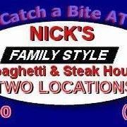 Nicks Spaghetti and Steak House Gloucester Point