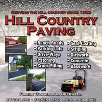 Hill Country Paving