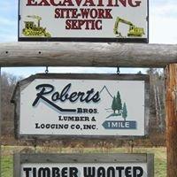 Roberts Bros Lumber & Logging Co Inc