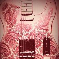 Y's GUITAR Bar Pink Paisley
