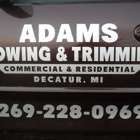 Adams Mowing and Trimming