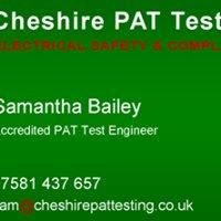 Cheshire PAT Testing