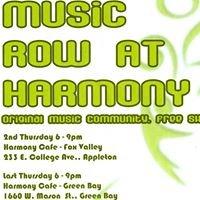 Music Row at Harmony Cafe