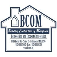Building Contractors of Maryland Inc.