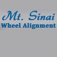 Mount Sinai Wheel Alignment