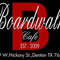 Boardwalk Cafe in the Denton Square