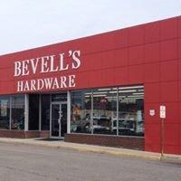 Bevell's Hardware Train Display