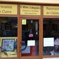 Zapateria L'escarpin y artesania en piel