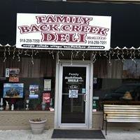 Family Back Creek Deli & Gifts