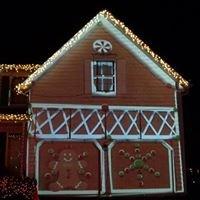 Tisthesimpsons Christmas Light Show