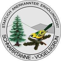 Ortschaft Schnarrtanne/ Vogelsgrün