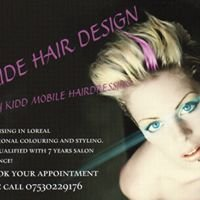 Cirsty kidd Pride hair design