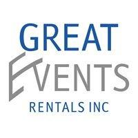 Great Events Rentals