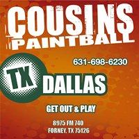 Cousins Paintball Dallas