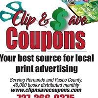 Clip & Save Coupon Book