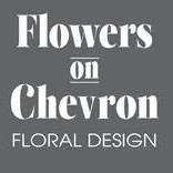 Flowers On Chevron