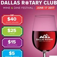 Dallas Rotary Wine and Dine Festival