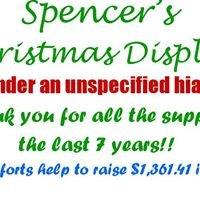 Spencer's Christmas Display