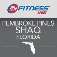 24 Hour Fitness - Pembroke Pines Shaq, FL