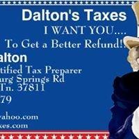 Dalton's Taxes