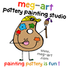meg-art pottery painting studio & espresso bar