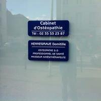 Cabinet de Kinésithérapie et Ostéopathie rond point université  Le Havre