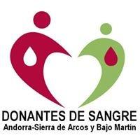 Donantes de Sangre - Andorra-Sierra de Arcos y Bajo Martin