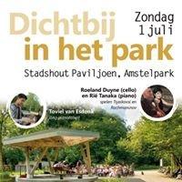 Stadshout Paviljoen Amstel Park