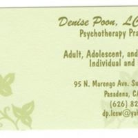 Denise Poon Psychotherapy Practice