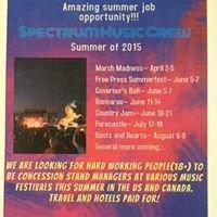 Spectrum Events- Music Festival Division