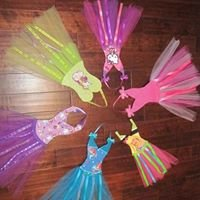 Character TUTU Hair Bow Holders