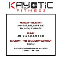 Kayotic Fitness - Eastern Shore